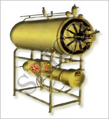 Cylindrical Horizontal Steam Sterlizer